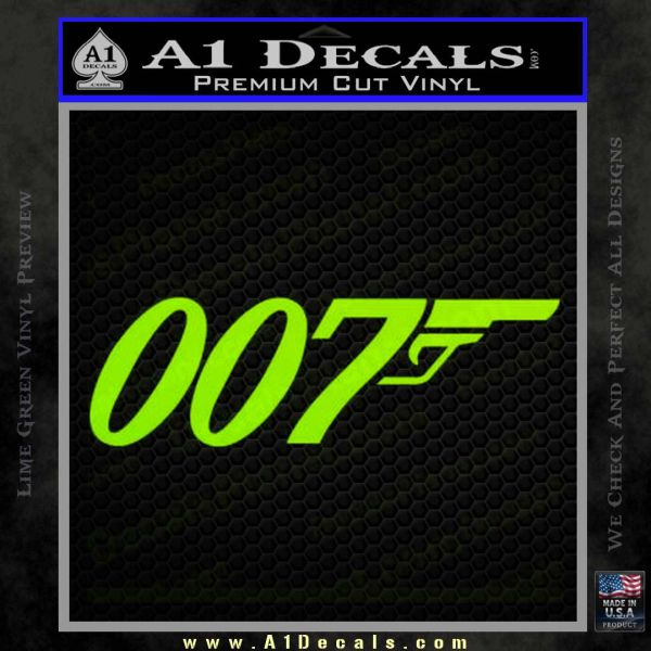 007 official: