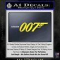 007 Decal Sticker James Bond Official Yellow Laptop 120x120