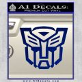 Autobot Decal Sticker Transformers ALT Blue Vinyl 120x120