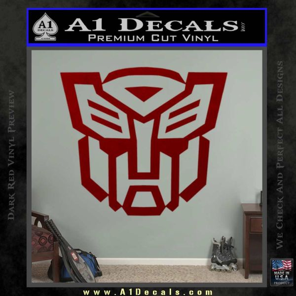 Autobot Decal Sticker Transformers ALT DRD Vinyl