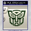 Autobot Decal Sticker Transformers ALT Dark Green Vinyl 120x120