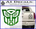 Autobot Decal Sticker Transformers ALT Green Vinyl Logo 120x97