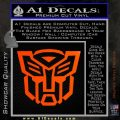 Autobot Decal Sticker Transformers ALT Orange Emblem 120x120