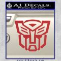 Autobot Decal Sticker Transformers ALT Red 120x120