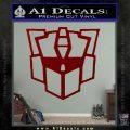 Autobot Retro Decal Sticker Transformers DRD Vinyl 120x120