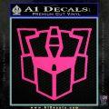 Autobot Retro Decal Sticker Transformers Pink Hot Vinyl 120x120