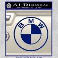 BMW Decal Sticker ALT Blue Vinyl 120x120