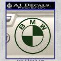 BMW Decal Sticker ALT Dark Green Vinyl 120x120
