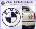 BMW Decal Sticker ALT PurpleEmblem Logo 120x97