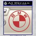 BMW Decal Sticker ALT Red 120x120