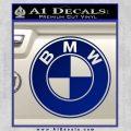 BMW Official Emblem Decal Sticker Blue Vinyl 120x120