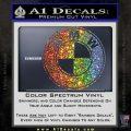 BMW Official Emblem Decal Sticker Glitter Sparkle 120x120