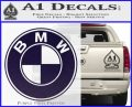 BMW Official Emblem Decal Sticker PurpleEmblem Logo 120x97