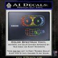 Bender Face Cigar Decal Sticker Futurama Glitter Sparkle 120x120