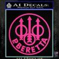 Beretta Retro CR Decal Sticker Pink Hot Vinyl 120x120