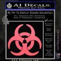 Biohazard Decal Sticker Standard D2 Pink Emblem 120x120