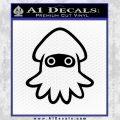 Blooper Decal Sticker Super Mario Black Vinyl 120x120