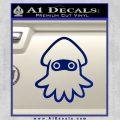 Blooper Decal Sticker Super Mario Blue Vinyl 120x120