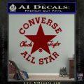Chuck Taylor Decal Sticker Converse All Stars DRD Vinyl 120x120