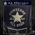Chuck Taylor Decal Sticker Converse All Stars Metallic Silver Emblem 120x120