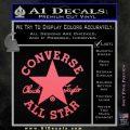 Chuck Taylor Decal Sticker Converse All Stars Pink Emblem 120x120