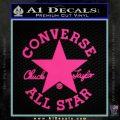 Chuck Taylor Decal Sticker Converse All Stars Pink Hot Vinyl 120x120