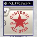 Chuck Taylor Decal Sticker Converse All Stars Red 120x120