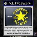 Chuck Taylor Decal Sticker Converse All Stars Yellow Laptop 120x120