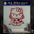Hello Kitty Ezio Assassins Creed Decal Sticker DRD Vinyl 120x120