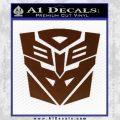 Transformers Ancient Hybrid Decal Sticker BROWN Vinyl 120x120