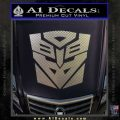 Transformers Ancient Hybrid Decal Sticker Carbon FIber Chrome Vinyl 120x120