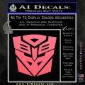 Transformers Ancient Hybrid Decal Sticker Pink Emblem 120x120