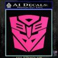 Transformers Ancient Hybrid Decal Sticker Pink Hot Vinyl 120x120