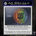 Transformers Autobot Decal Sticker Full Emblem Glitter Sparkle 120x120