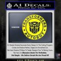 Transformers Autobot Decal Sticker Full Emblem Yellow Laptop 120x120