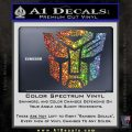 Transformers Autobots Decal Sticker tf Glitter Sparkle 120x120