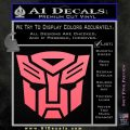 Transformers Autobots Decal Sticker tf Pink Emblem 120x120