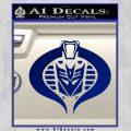 Transformers Cobra Decal Sticker Hybrid Blue Vinyl 120x120