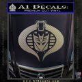 Transformers Cobra Decal Sticker Hybrid Carbon FIber Chrome Vinyl 120x120
