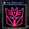 Transformers Decepticon Cylon Battlestar Galactica Mashup D1 Decal Sticker Pink Hot Vinyl 120x120