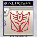 Transformers Decepticon Cylon Battlestar Galactica Mashup D1 Decal Sticker Red 120x120