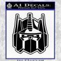 Transformers Decepticon Decal Sticker New Black Vinyl 120x120