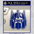 Transformers Decepticon Decal Sticker New Blue Vinyl 120x120