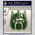 Transformers Decepticon Decal Sticker New Dark Green Vinyl 120x120