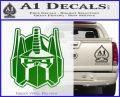 Transformers Decepticon Decal Sticker New Green Vinyl Logo 120x97
