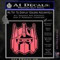 Transformers Decepticon Decal Sticker New Pink Emblem 120x120