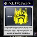 Transformers Decepticon Decal Sticker New Yellow Laptop 120x120