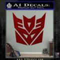 Transformers Decepticon Logo R1 Decal Sticker DRD Vinyl 120x120