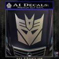 Transformers Decepticons Decal Sticker tf Carbon FIber Chrome Vinyl 120x120