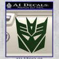 Transformers Decepticons Decal Sticker tf Dark Green Vinyl 120x120